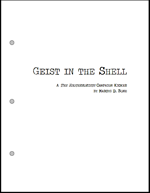 Geist in the Shell  - An Esoterrorists Adventure